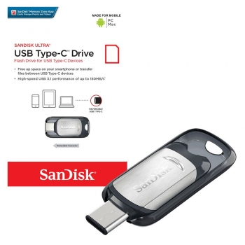 Флешка SanDisk Ultra USB Type-C 32GB (SDCZ450-032G-G46)