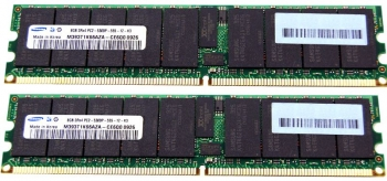 DIMM 16Gb (2*8Gb) DDR2-667 IBM 43X5022 ECC REG CL5